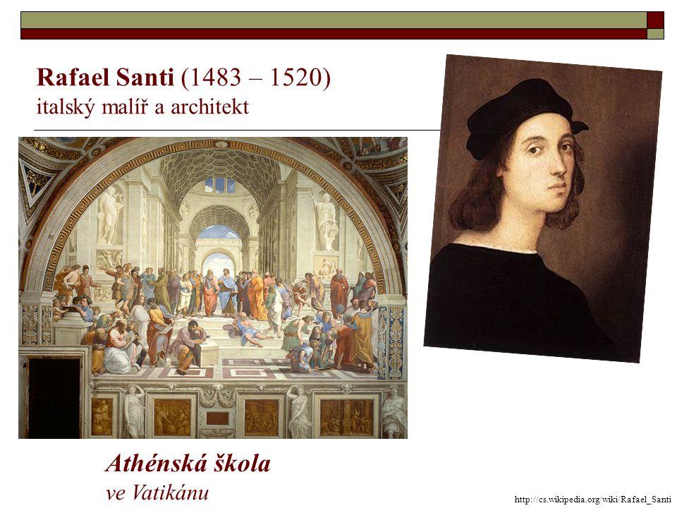 Sandro Botticelli (1445 – 1510) italský malíř tempera na plátně Zrození Venuše ve Florencii http://cs.wikipedia.org/wiki/Sandro_Botticelli