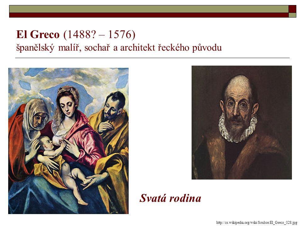 Tizian (1488? – 1576) italský malíř Danaé a zlatý déšť http://cs.wikipedia.org/wiki/Tizian
