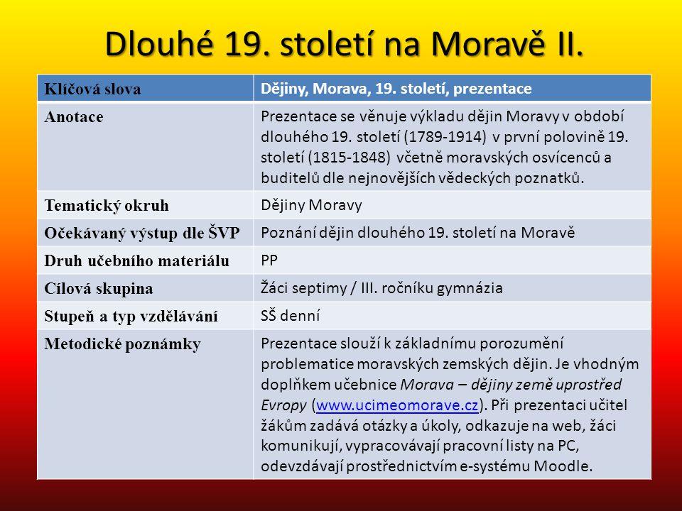 Umění na Moravě 1780-1840 vazby na metropoli Vídeň, nikoliv na provinční Prahu Morava se ve srovnání s Čechami vždy odlišný kulturní fenomén, geograficky otevřena na jih, do Podunají výjimkou bylo (arci/biskupské) Olomoucko, které udržovalo bližší vztahy s pražským prostředím Moravské vrcholné baroko reprezentuje velmi kvalitní odnož rakouského baroka a teprve od 40.