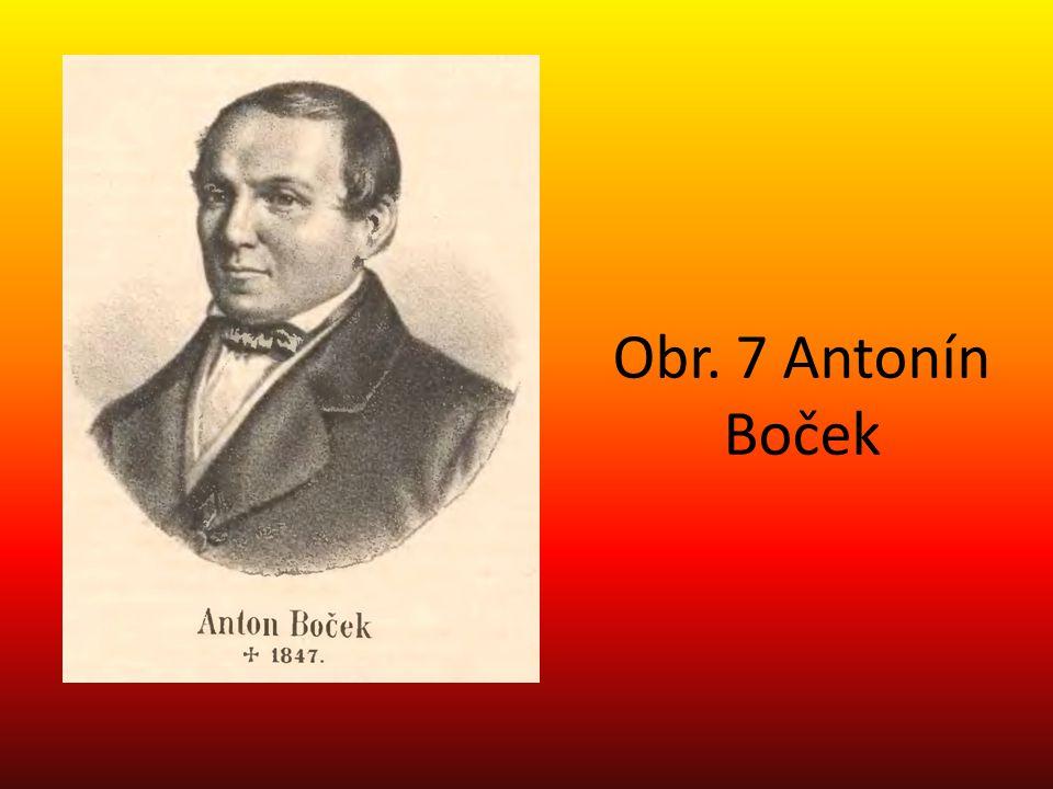 Obr. 7 Antonín Boček