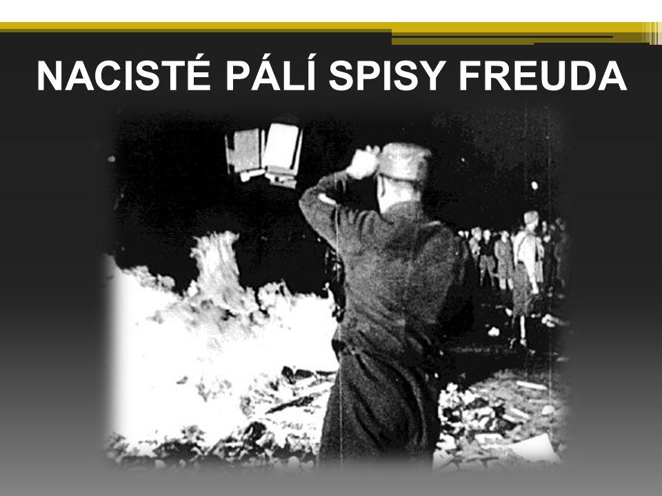 NACISTÉ PÁLÍ SPISY FREUDA