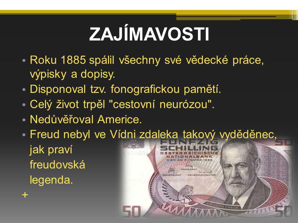ZAJÍMAVOSTI Roku 1885 spálil všechny své vědecké práce, výpisky a dopisy. Disponoval tzv. fonografickou pamětí. Celý život trpěl