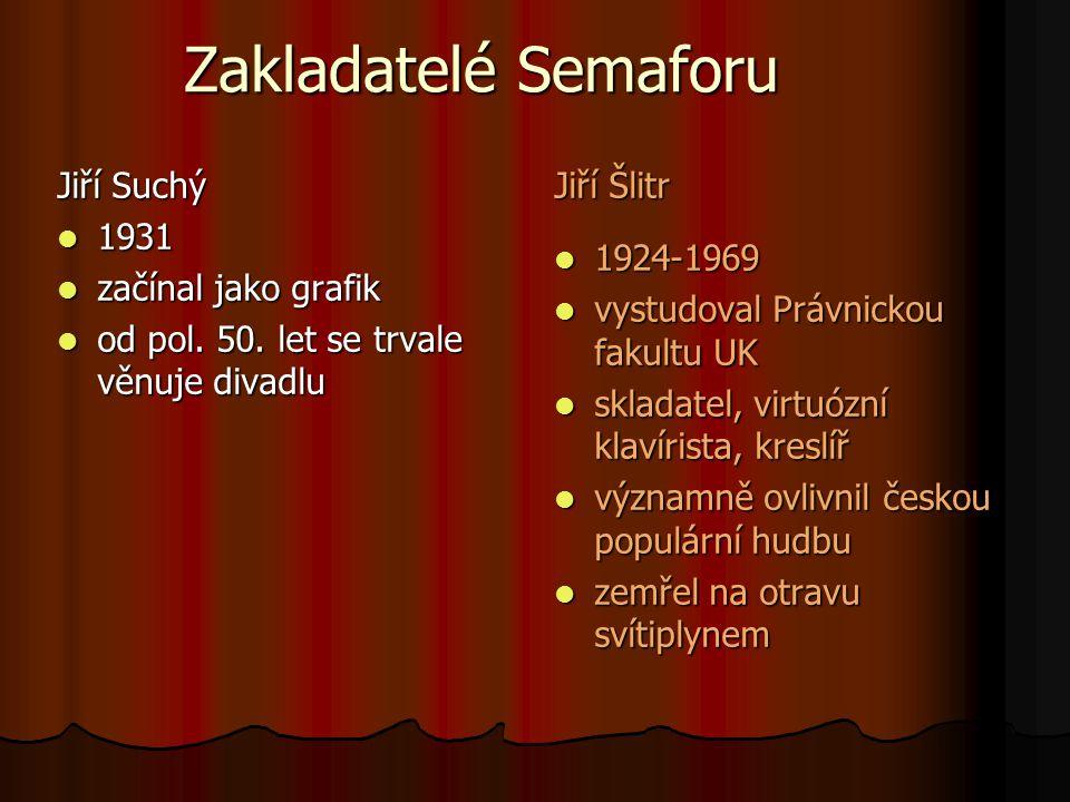 Jitka Molavcová 1950 1950 zpěvačka, spisovatelka, muzikantka, moderátorka a herečka zpěvačka, spisovatelka, muzikantka, moderátorka a herečka po úspěchu v pěvecké soutěži vstupuje do Semaforu (1970) po úspěchu v pěvecké soutěži vstupuje do Semaforu (1970)
