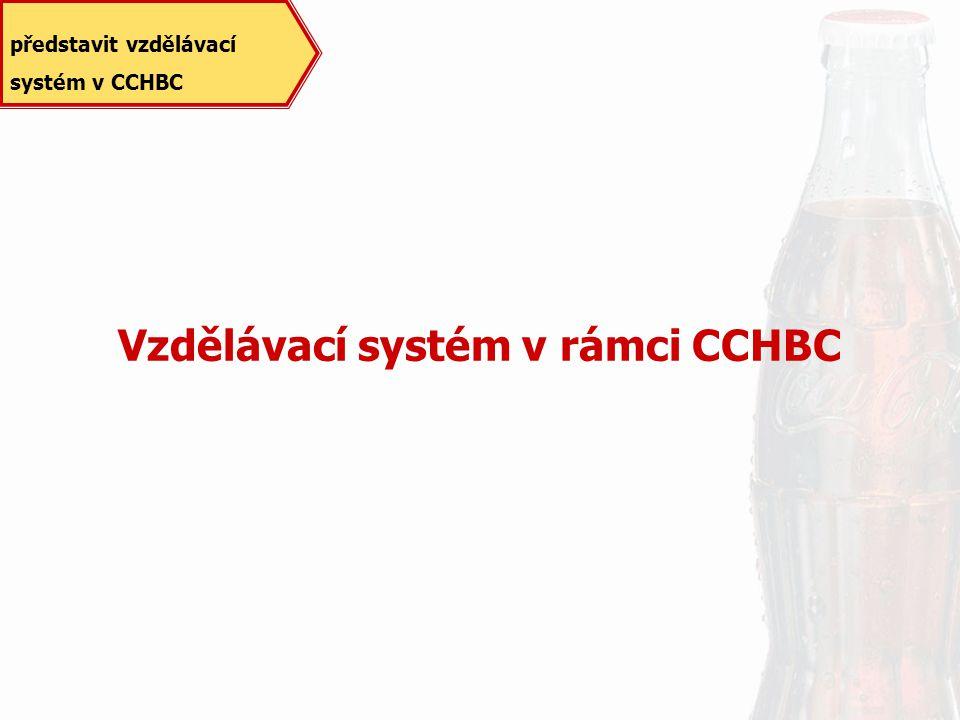 Vzdělávací systém v rámci CCHBC představit vzdělávací systém v CCHBC