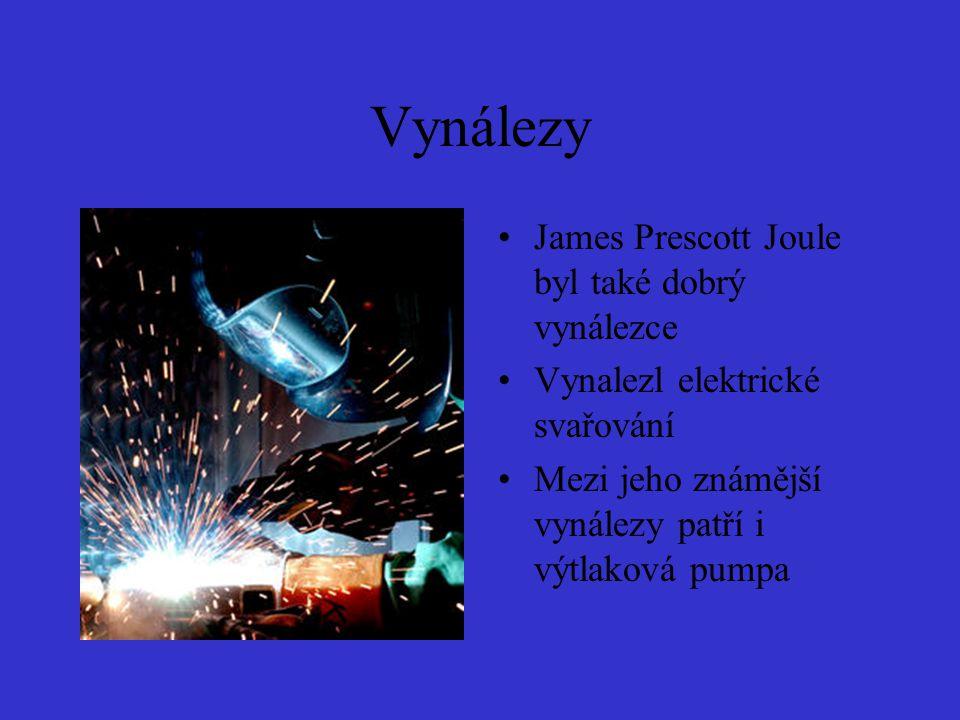James prescott joule prezentace