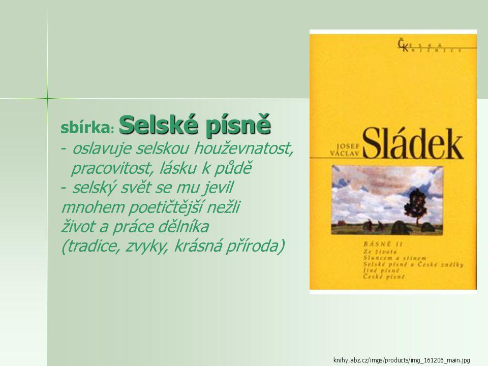 www.pemic.cz/fotocache/bigorig/http--d---- Básně sbírky: Básně Jiskry na moři Téma:  smutek a žal nad smrtí milované ženy Emílie  motivy cest do Ame