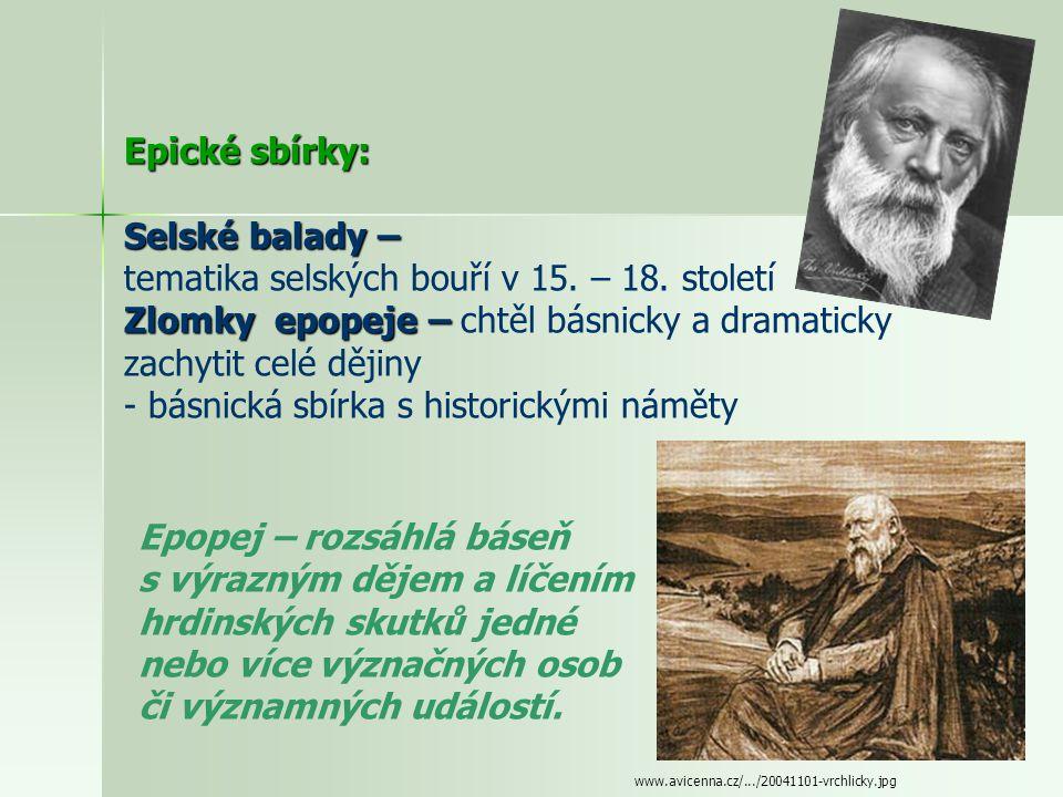 Básník - tvořil neobyčejně lehce (až 270 knih) www.nln.cz/media/obalky/velke/004398.jpg Lyrické sbírky: Z hlubin – zejména milostná lyrika - pesimismu