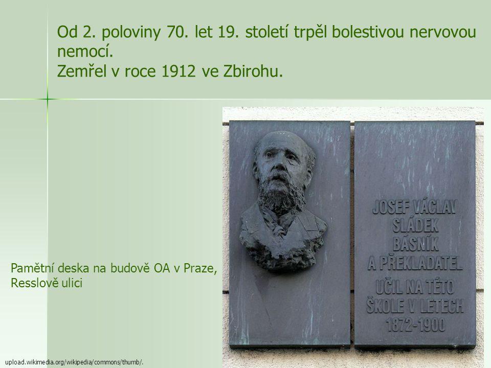Ž ivot www.cojeco.cz/...//photos/pers395310197b094.jpg - narozen 1845 ve Zbirohu - studoval jazyky a přírodní vědy na filozofické fakultě - dva roky s