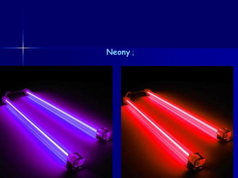 Neony ↓