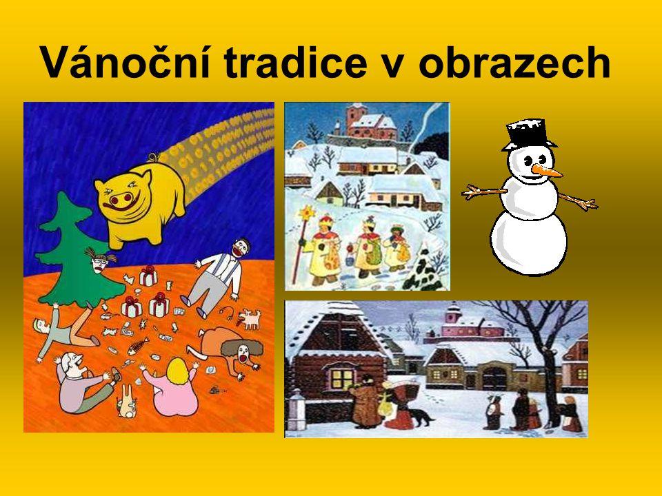 Vánoční tradice v obrazech