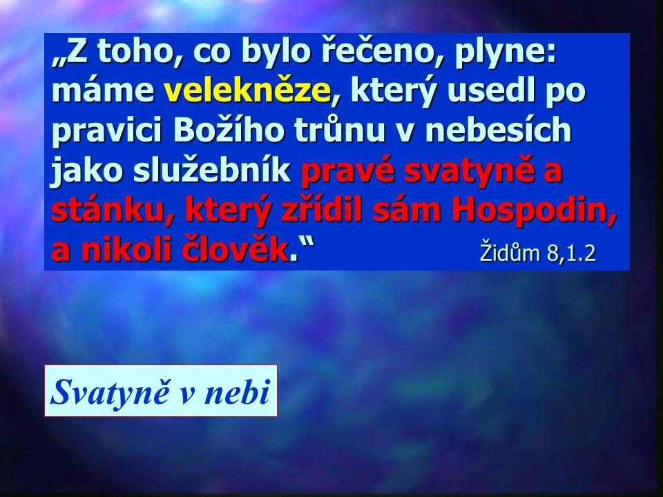 """""""Tu se chrámová opona roztrhla vpůli odshora až dolů."""" Marek 15,38 Pozemská svatyně smrtí Ježíše skončila svoje poslání.!"""