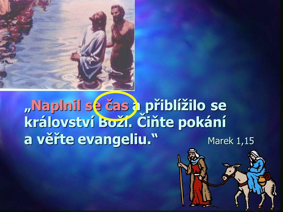 """""""Když se však naplnil stanovený čas, poslal Bůh svého Syna, narozeného z ženy, podrobeného zákonu."""" Galatským 4,4"""