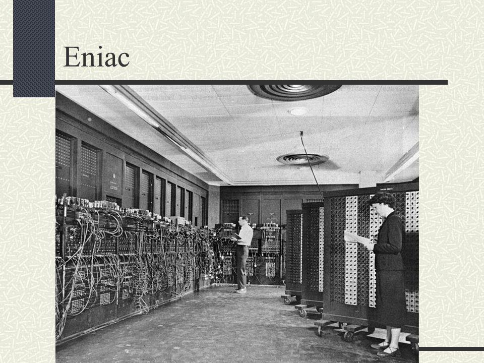 Historie vzniku počítačů a operačních systémů Eniac však nebyl úplně první.Historie vývoje počítačů začíná ve 40.