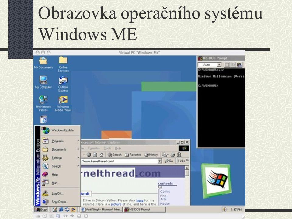Operační systémy Windows – Windows 2000 Operační systém Windows 2000 ve verzi Professional podporuje dva procesory, souborové, tiskové a aplikační služby.