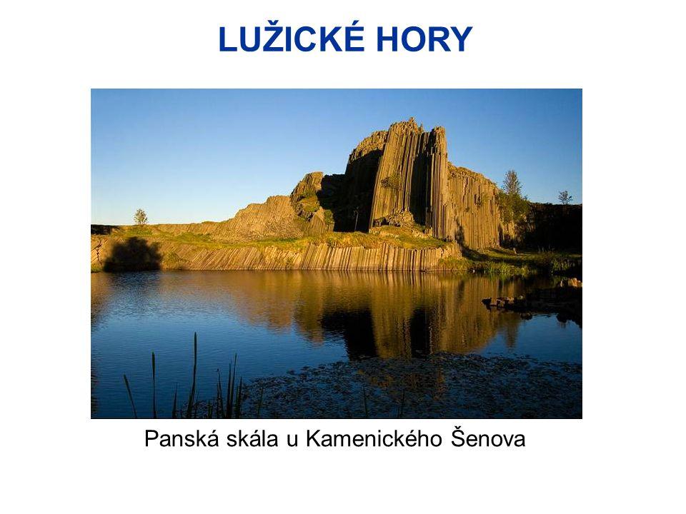 LUŽICKÉ HORY Panská skála u Kamenického Šenova