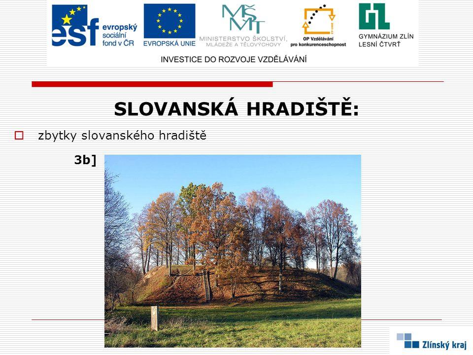 SLOVANSKÁ HRADIŠTĚ:  rekonstrukce slovanského hradiště 3c]