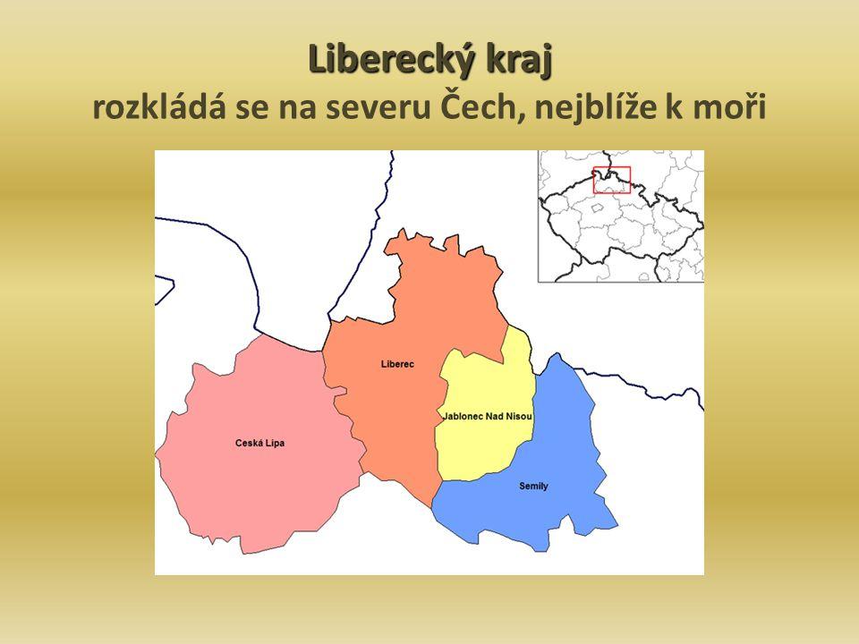 Liberec krajské město v 16.