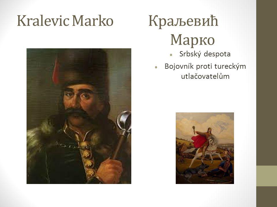 Kralevic Marko Tatarský utlačovatel