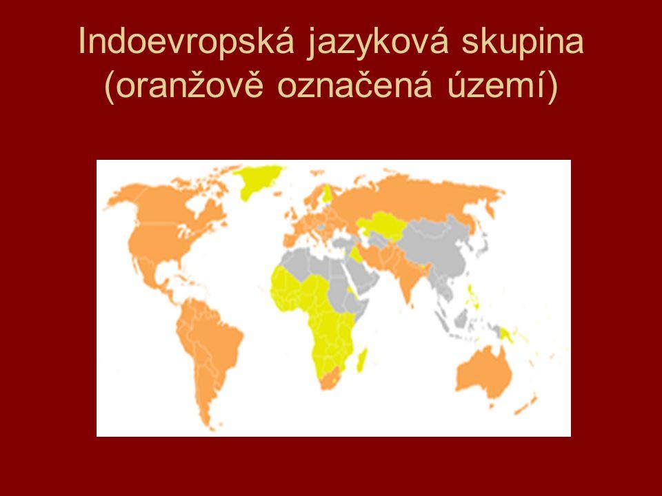 Indoevropská jazyková skupina Určeno pro školní účely.