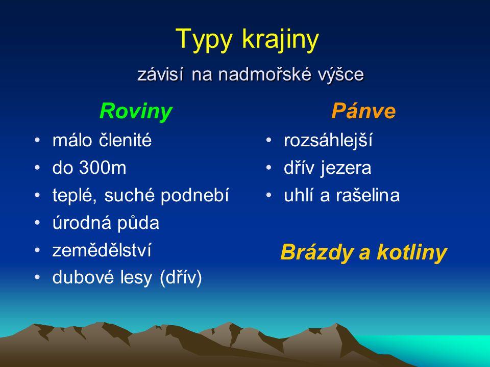 Typy krajiny – Roviny Polabská nížina Obr.3