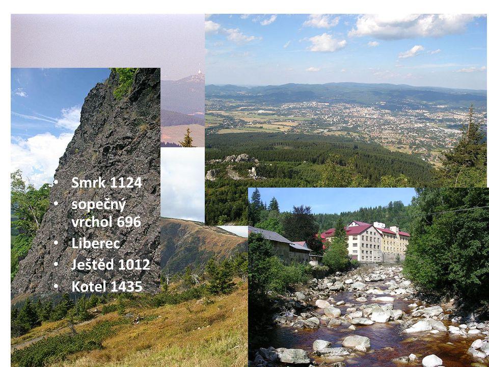 Reliéf Vytvoř trojice(dva pojmy + obrázek) 1.Ralska pahorkatina-sopečný vrchol 696 m.n.m.