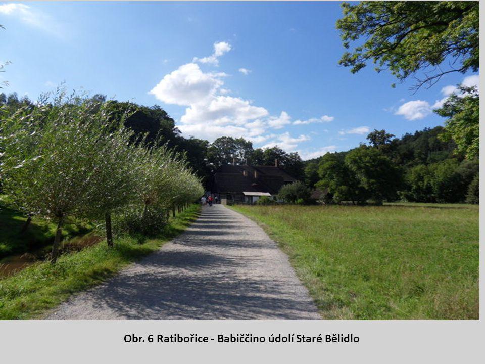Obr. 6 Ratibořice - Babiččino údolí Staré Bělidlo