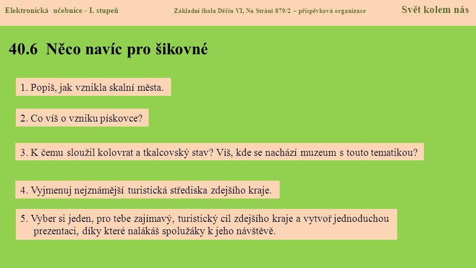 40.7 Region Elektronická učebnice - I.