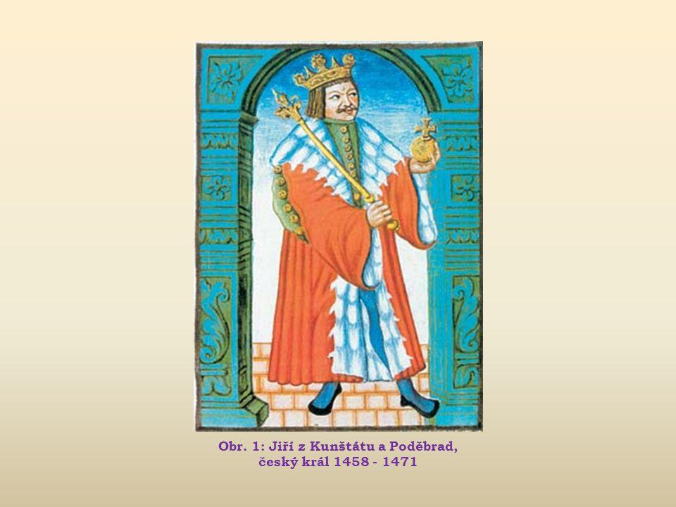 Obr. 4: Král Jiří nad obklíčenými vojsky Matyáše Korvína u Vilémova