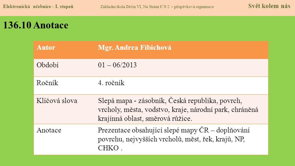 136.9 Použité zdroje, citace Elektronická učebnice - I.
