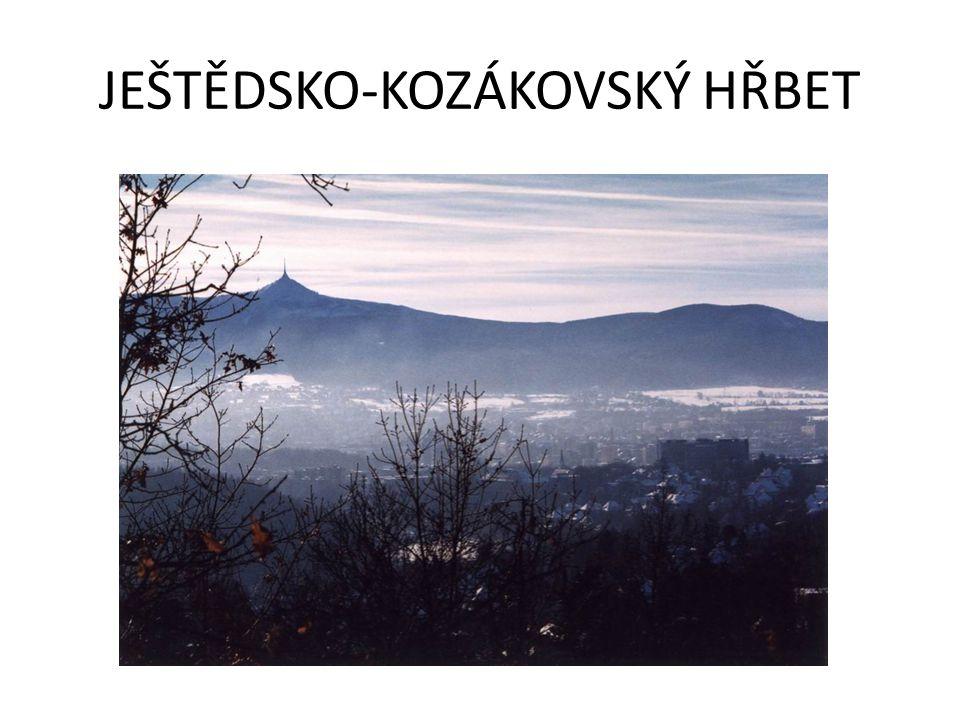 JEŠTĚDSKO-KOZÁKOVSKÝ HŘBET