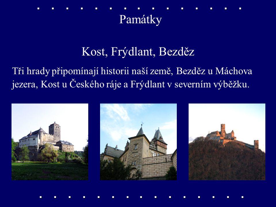 Památky Terezín Pevnost Terezín byla postavena nedaleko Litoměřic. Za druhé světové války tu němečtí okupanti zřídili koncentrační tábor.