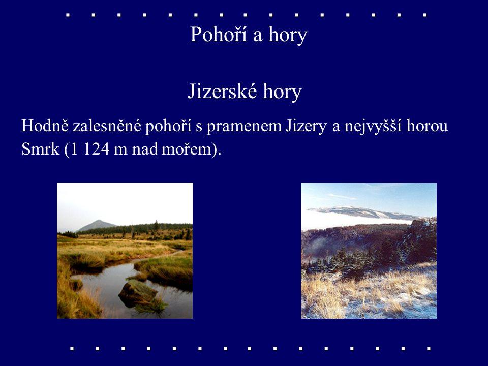 téměř nedotčená příroda i těžce postižená průmyslová krajina Severní Čechy Vyhledávejte v příruční mapě.