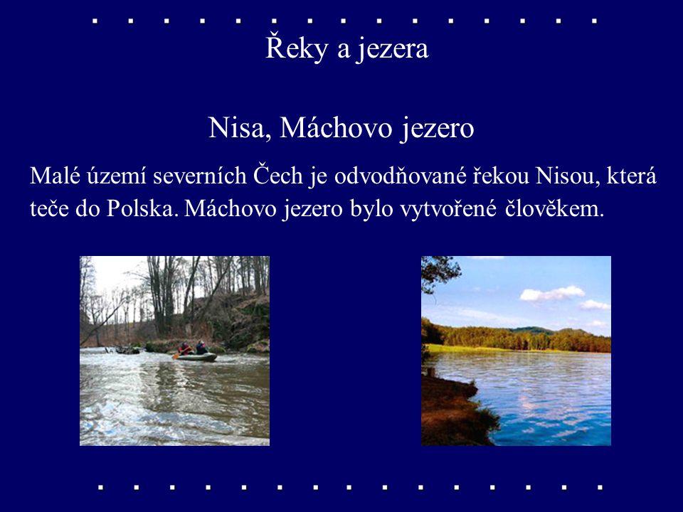 Řeky a jezera Ohře, Bílina, Ploučnice Téměř celé severní Čechy patří do povodí Labe. Největšími přítoky Labe jsou řeky Ohře, Bílina a Ploučnice.