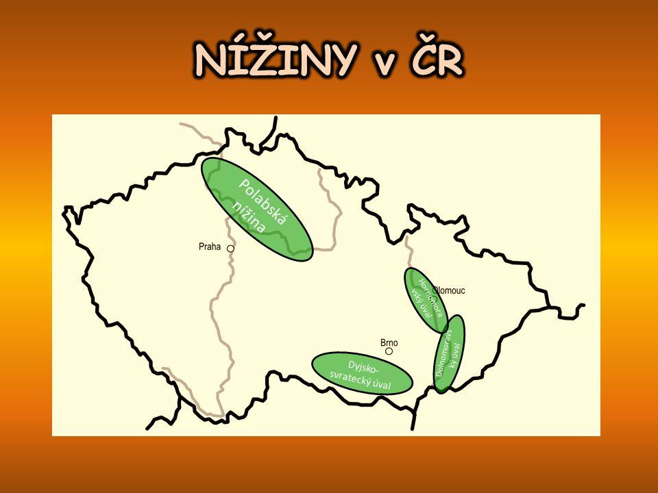 Polabská nížina Dyjsko- svratecký úval Dolnomoravs ký úval Hornomora vský úval
