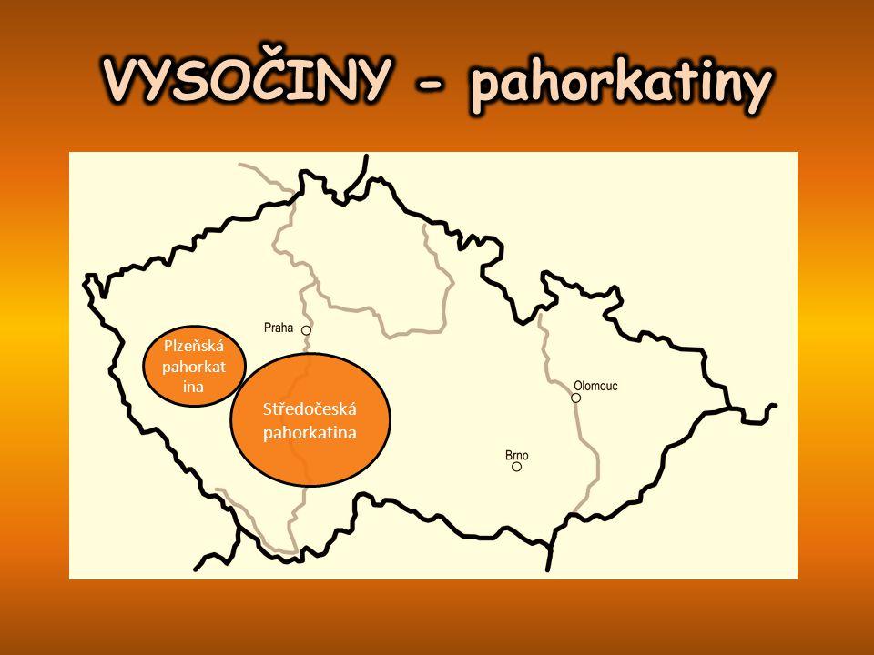 Středočeská pahorkatina Plzeňská pahorkat ina