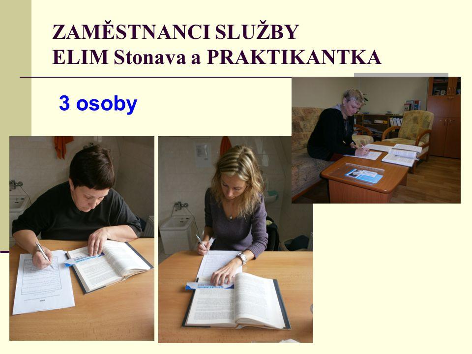 ZAMĚSTNANCI SLUŽBY ELIM Stonava a PRAKTIKANTKA 3 osoby