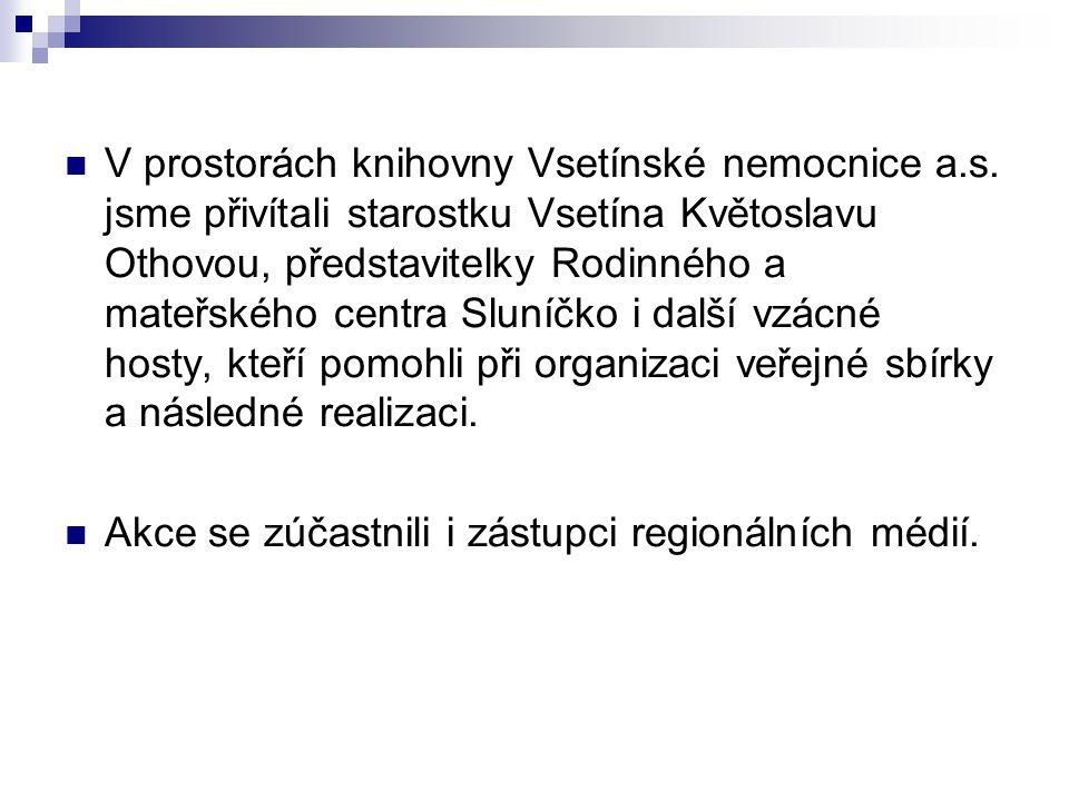 V prostorách knihovny Vsetínské nemocnice a.s.