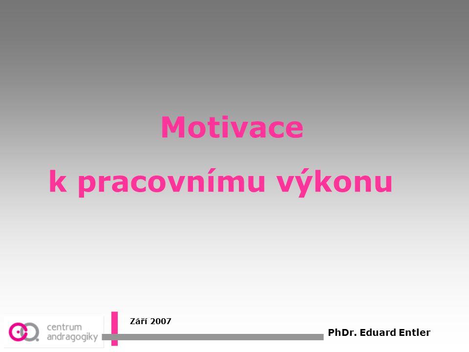 Stimulace x Motivace ?