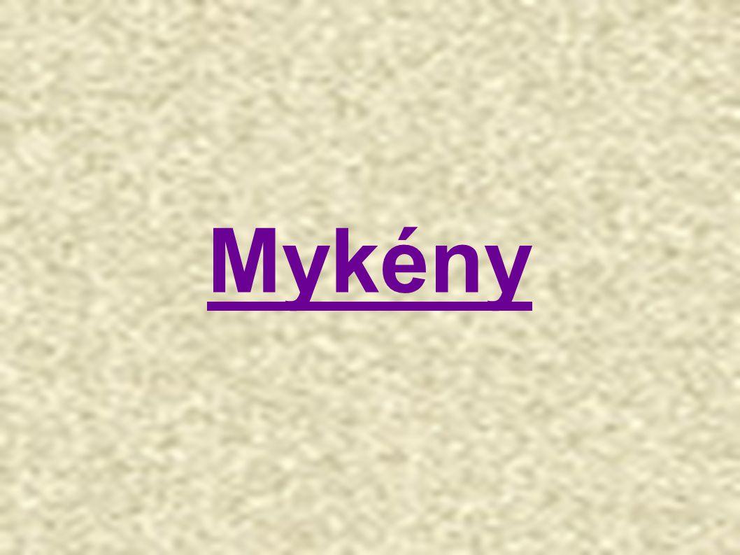 Mykénské umění navazuje na krétské umění 1 600–1 200 př.
