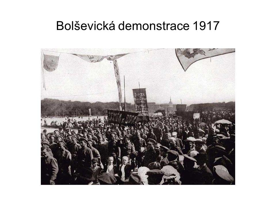 Bolševická demonstrace 1917