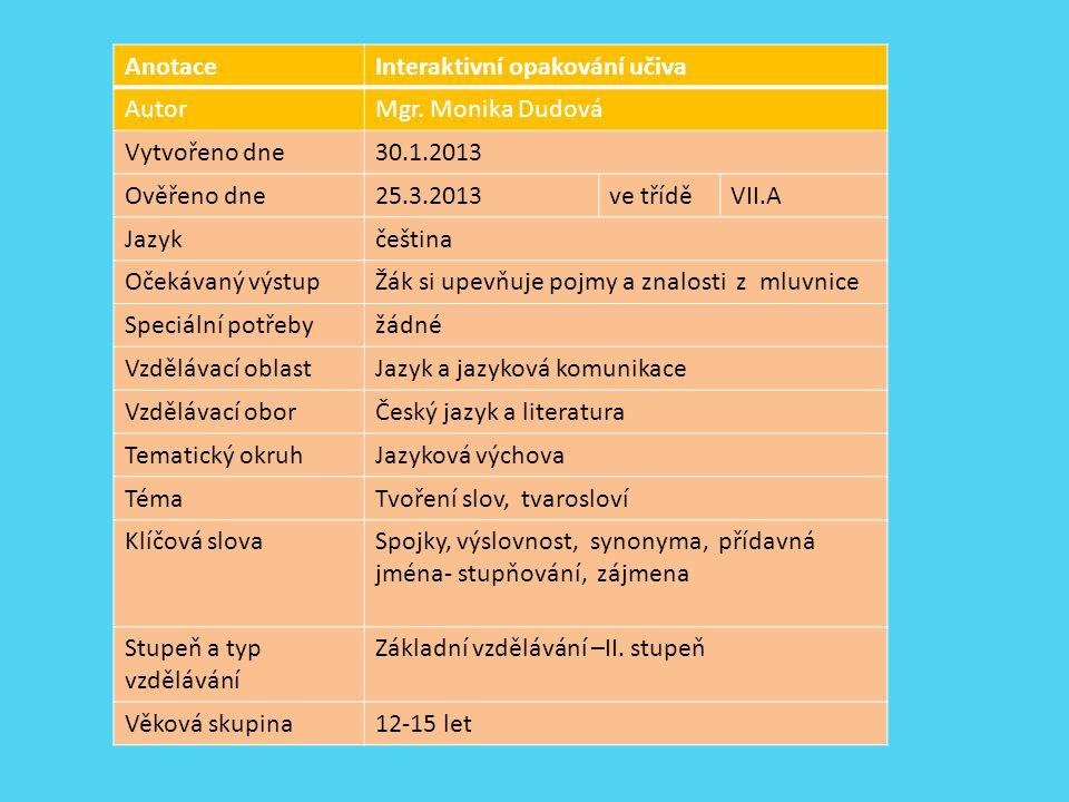 Použité zdroje: KROBOTOVÁ, M.Spisovná výslovnost a kultura mluveného projevu.