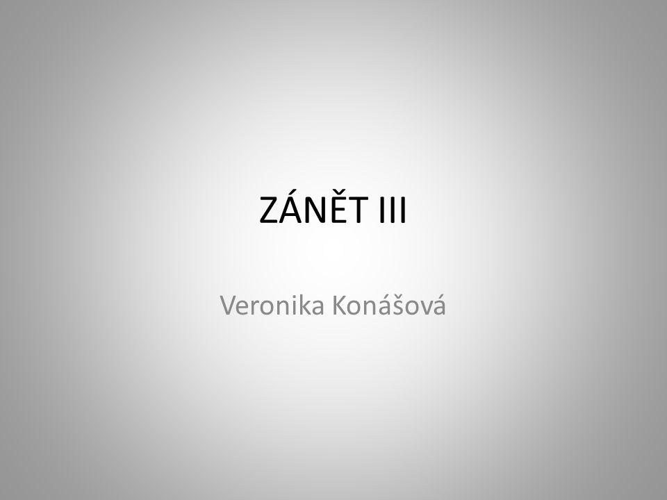 ZÁNĚT III Veronika Konášová