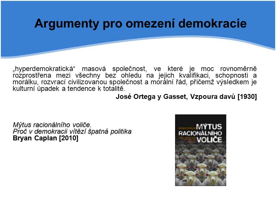 Hlasovací paradoxy (Bord, Condorcet) 123 AdamSociální jistotyEkonomický rozvojBezpečnost BohoušEkonomický rozvojBezpečnostSociální jistoty CecilieBezpečnostEkonomický rozvojSociální jistoty 123 AdamSociální jistotyEkonomický rozvojBezpečnost BohoušEkonomický rozvojBezpečnostSociální jistoty CecilieBezpečnostSociální jistotyEkonomický rozvoj Vítězí ekonomický rozvoj (další v pořadí – bezpečnost, sociální jistoty, 4-3-2) Nevítězí nic 3-3-3