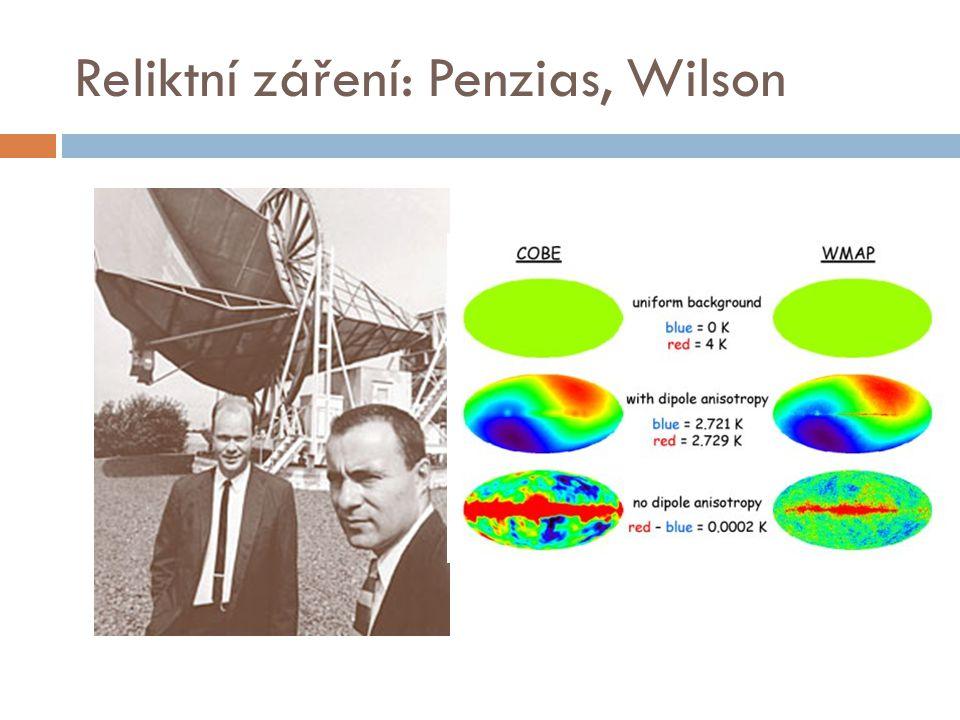 Reliktní záření: Penzias, Wilson