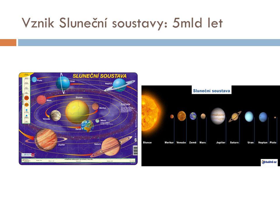 Vznik Sluneční soustavy: 5mld let