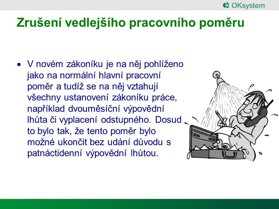 Dohody o pracích mimo pracovní poměr -1 § 75 Dohoda o provedení práce § 76 Dohoda o pracovní činnosti