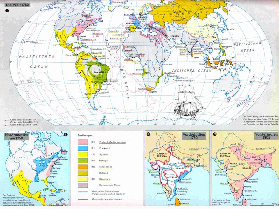 James Cook Největší mořeplavec této doby Objevil Austrálii Na jeho plavbách ho doprovázeli vědci – získával tak nesmírně cenné poznatky geografické, astronomické a přírodovědné Výrazně tak posunul znalosti o Zemi