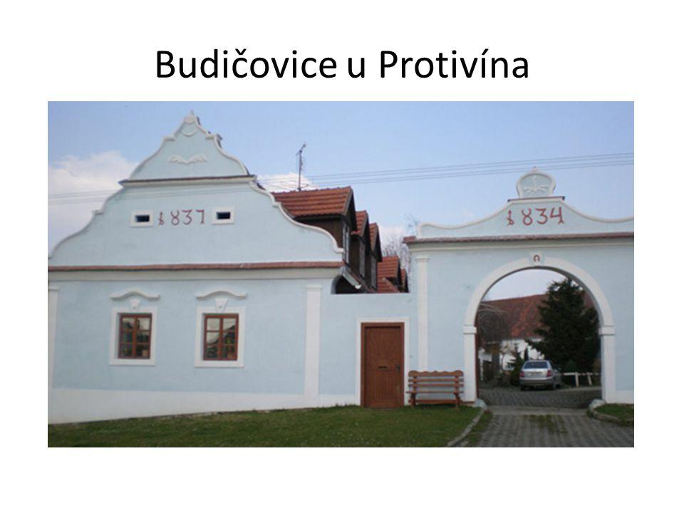 Budičovice u Protivína