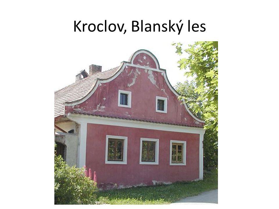 Kroclov, Blanský les