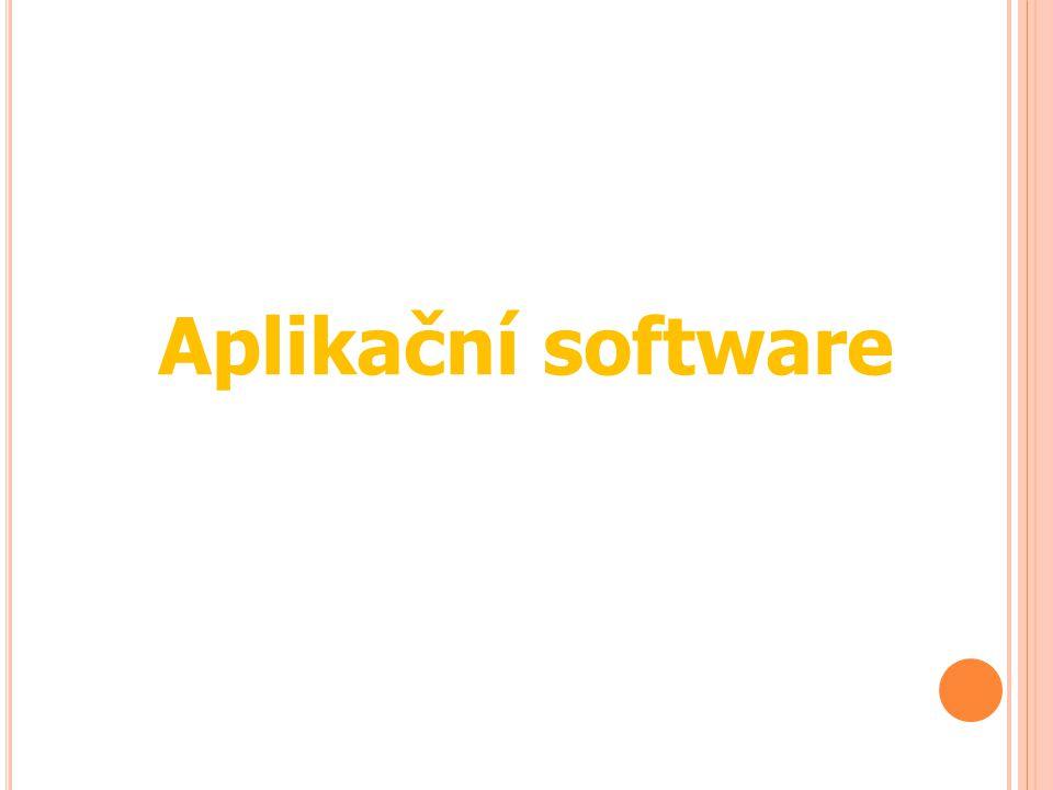Aplikační software